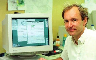 Английский ученый и основатель языка HTML Tim Berners Lee
