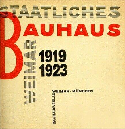 Немецкая дизайнерская школа Bauhaus
