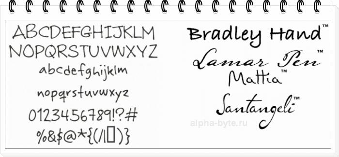 Что такое имитационные шрифты и стоит ли их использовать